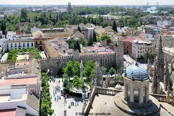 Sevilla-Sehenswuerdigkeiten-Sicht-vom-Glockenturm