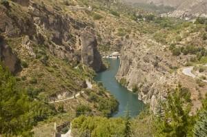 Berglandschaft-Andalusien