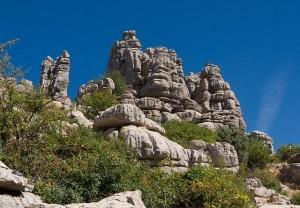 Bergwanderung-Andalusien